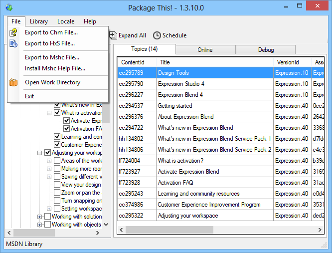 Package This! - Download & Package MSDN & TechNet Content